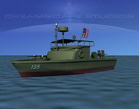 PBR Patrol Boat Riverine 3D model