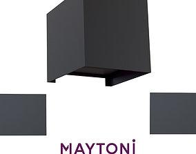Wall lamp O572WL-L6B Maytoni Outdoor free 3d model