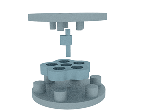 3D print model cycloid speed reducer ratio 05 to 01