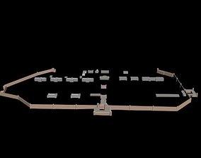 Red Fort Delhi 3D