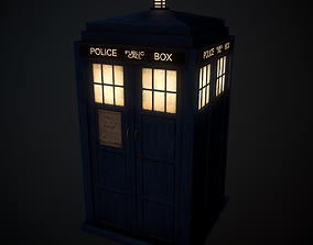 10th Doctors TARDIS 3D model