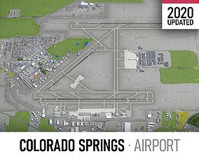 3D model Colorado Springs Airport - COS