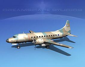3D Convair C-131 Israeli ADF