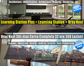 3ds max Learning Station PLUS 6 Mesi Subscription un 1