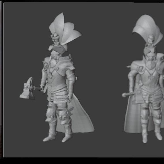 Karl Franz 3D Print Ready Model