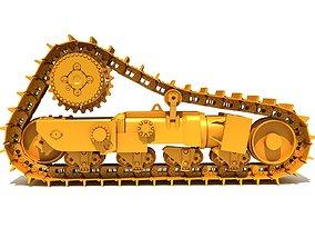 Excavator Tracks 3D model
