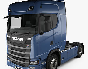 Scania R Highline Tractor Truck 2-axle 2016 3D