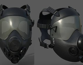 game-ready Mask gas protection pollution fantasy scifi 2