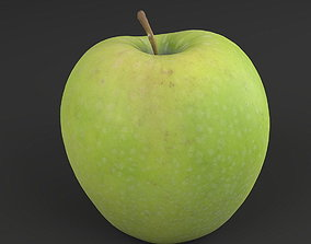 3D model game-ready Apple green 02