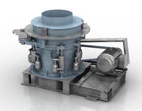 Crusher 3D Model