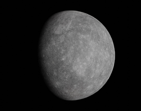3D model realtime Mercury