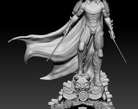 BATMAN SAMURAI 3D Scan fixed and Printable