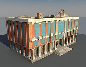 Vintage Building 09 3D model