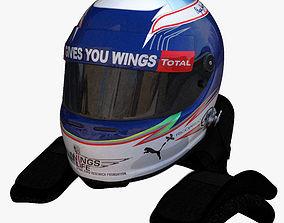 Ricciardo Helmet 2016 3D model