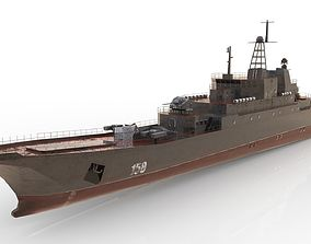 3D asset Ropucha Class Landing Ship