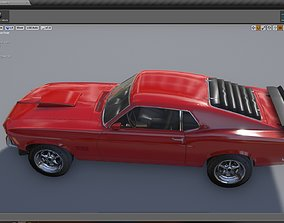 Mustang 429 with Cockpit 3D asset