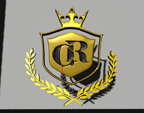 Criminal Records Logo 3D printable model