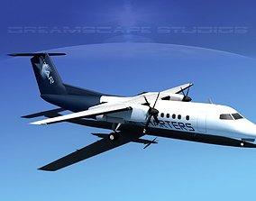 3D DeHavilland DHC-8-Q300 Star Charters