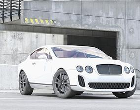 Sport Car Model Continental GT 3D
