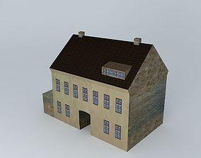 19th Century European House 3D model