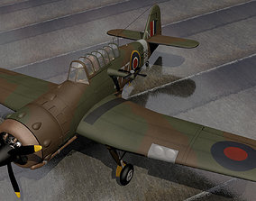 Miles M-25 Martinet TT1 3D
