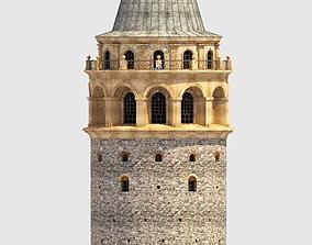 3D asset The Galata Tower