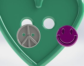 Cloth Buttons 3D print model