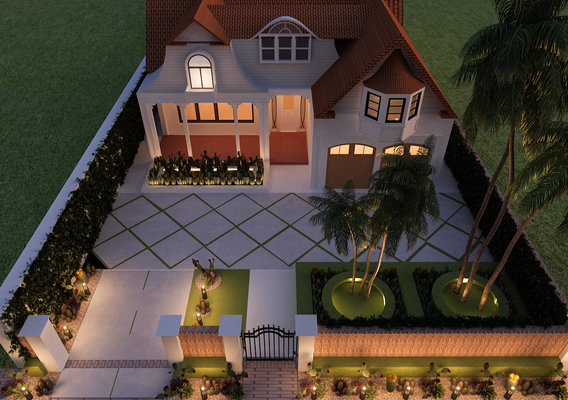 3d max render isometric view