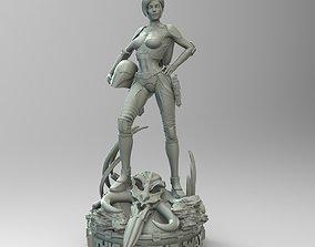 Star Wars Mandalorian Pin Up Girl 3D print model