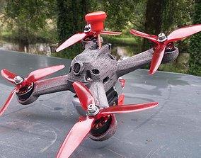 3D200 - Racing quadcopter 3D print model