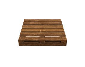 Wood pallet 3D asset