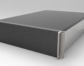 3RU 12 Bay Server 3D model