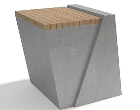 furniture Atelier Vierkant Side Table 3D model
