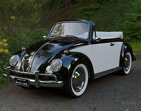 Volkswagen Beetle Convertible 3D