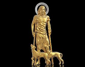 3D printable model Saint Lazarus