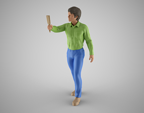Paint Man 3D print model