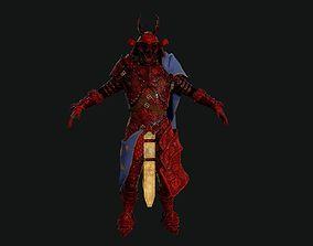 Red Samurai 3D model