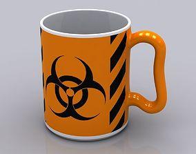 3D Hazardous Coffee Mug