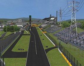 Suzuka F1 Track 3D model