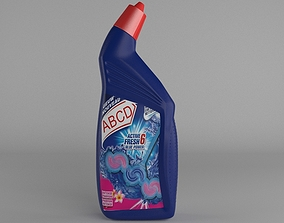 WC Cleaning Bottle 3D model