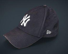 3D asset Baseball Cap 2