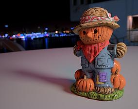 3D asset Pumpkin Scarecrow
