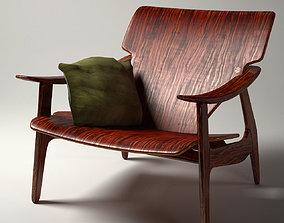 Diz armchair by Sergio Rodrigues 3D model