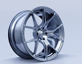 car rim 3D asset realtime