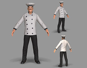 3D model Kitchen Chef