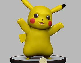 pokemon Pikachu 3D print model