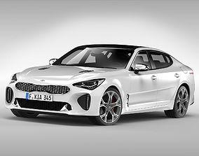 Kia Stinger GT 2018 3D model