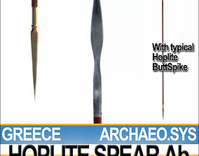 Greek Hoplite Spear Model Ab