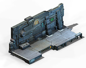 Machinery - Wall 02 3D model