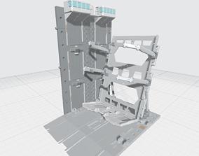 -MHB04C- Mecha Hangar Bay 04 Hangar 3D printable model 2